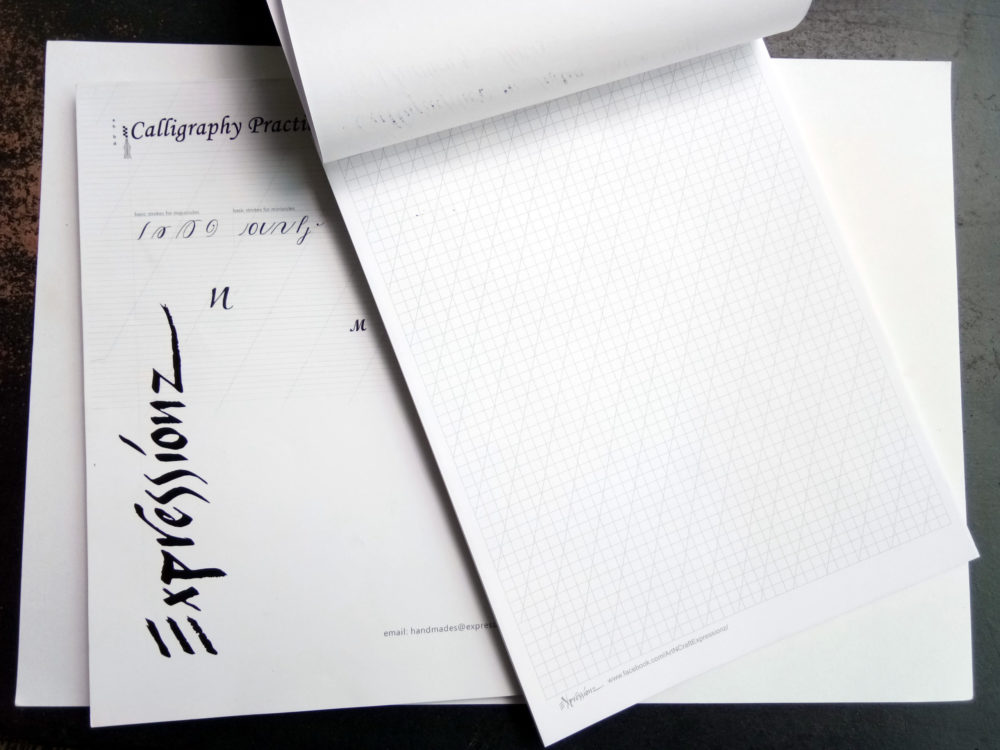 Calligraphy Practice Pads