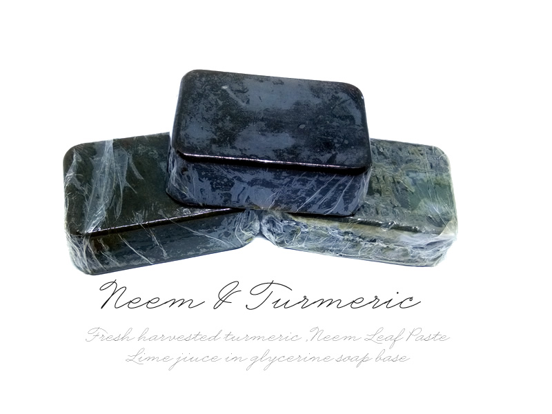Neem Lime and Turmeric soap